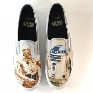 SPERRY STAR WARS CLOUD R2 D2 & C-3PO Boat Shoes